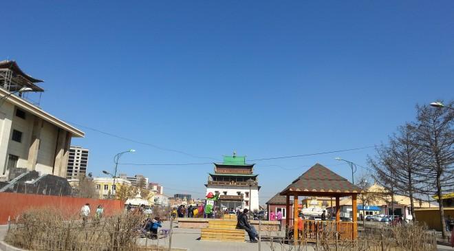 Гандантэгчэнлин хийд буюу Төв Гандан