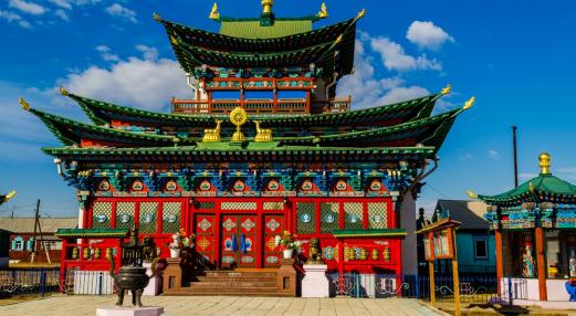 Улаан-Үд, Итгэлт Хамбад мөргөх аялал